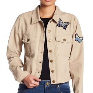 Romeo and Juliet couture butterfly jacket